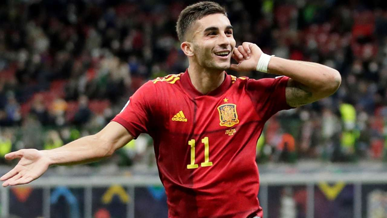 Ferran Torres - Spain - UEFA Nations League semi - October 6, 2021