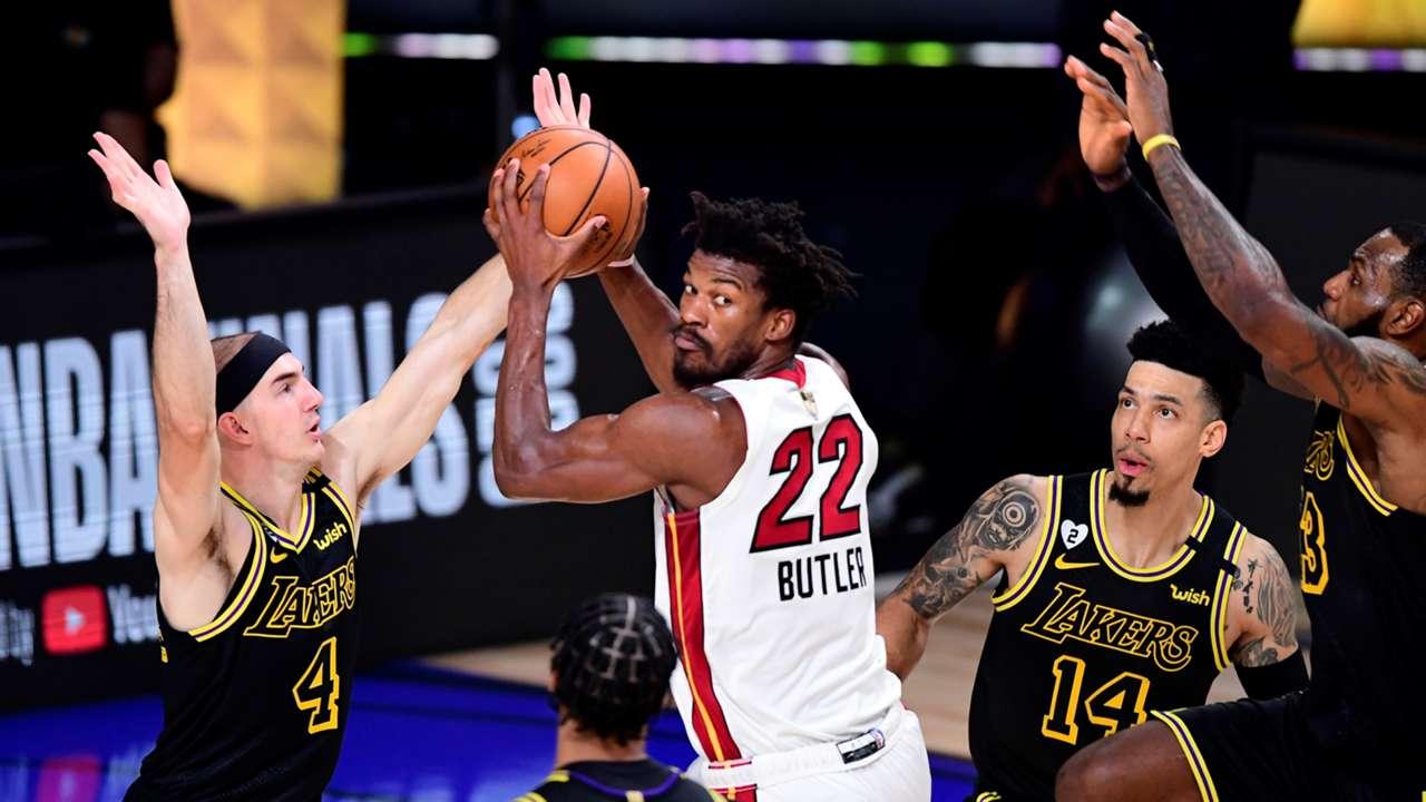 NBA Finals Game 2 Heat Lakers