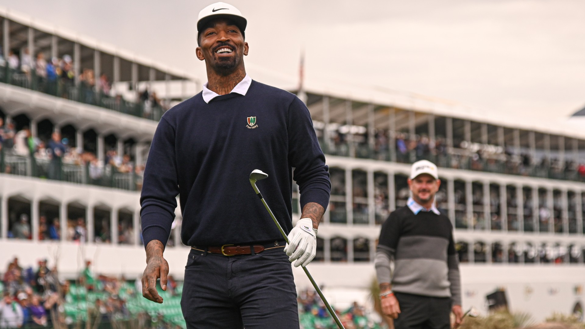 J.R. Smith, a former NBA champion, has been ruled ineligible by the NCAA. 'It's a terrific feeling,' Smith says of being eligible to play college golf.