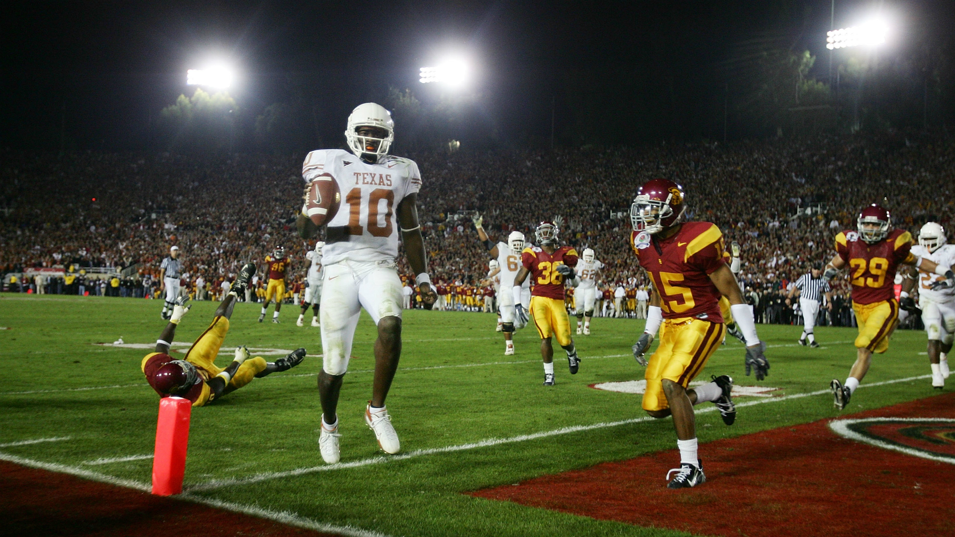 10 things you might not remember about the 2006 Rose Bowl between ...