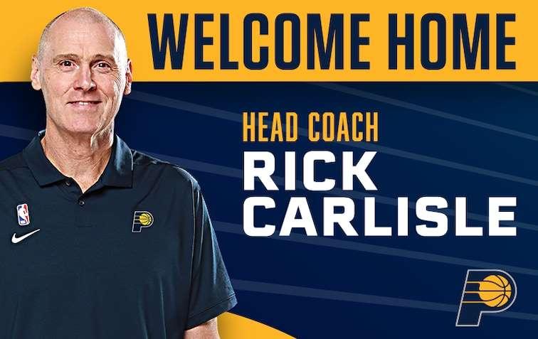 リック・カーライル ペイサーズHC就任 Rick Carlisle