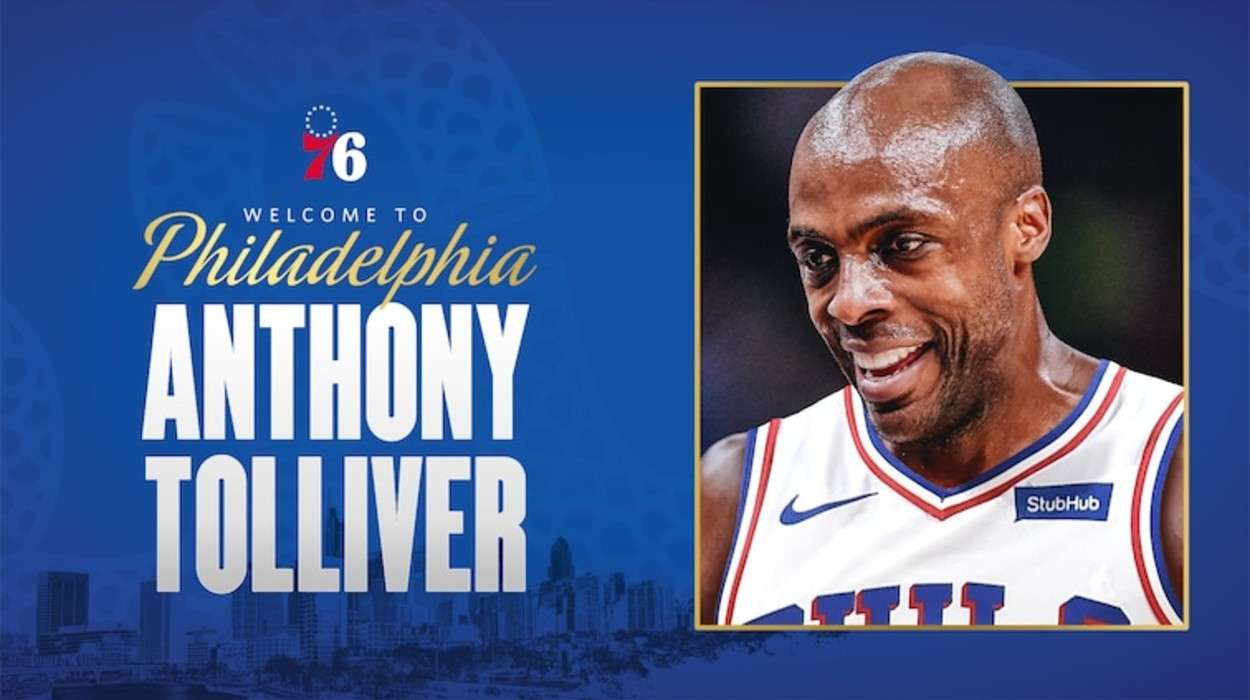 Philadelphia 76ers Anthony Tolliver