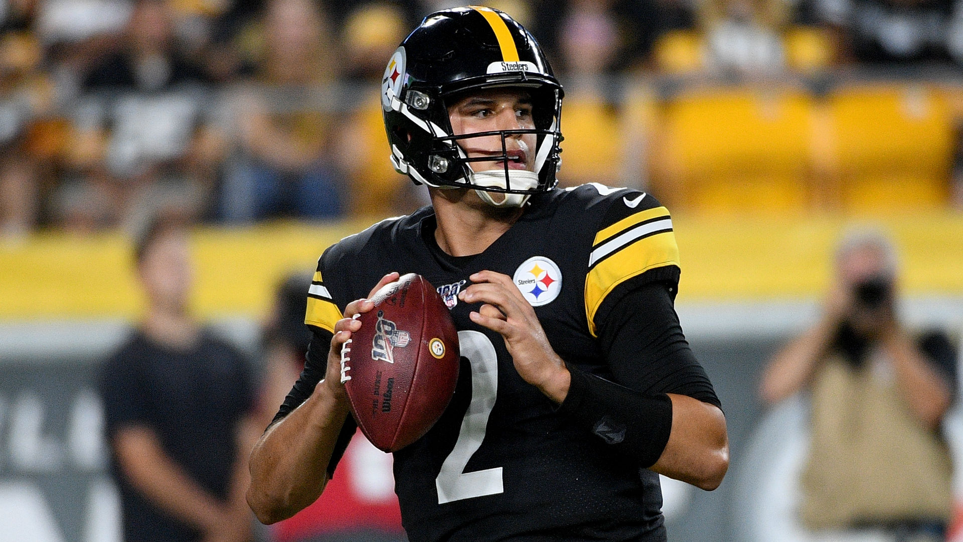 Who Is Mason Rudolph Four Things To Know About The Steelers Quarterback Sporting News