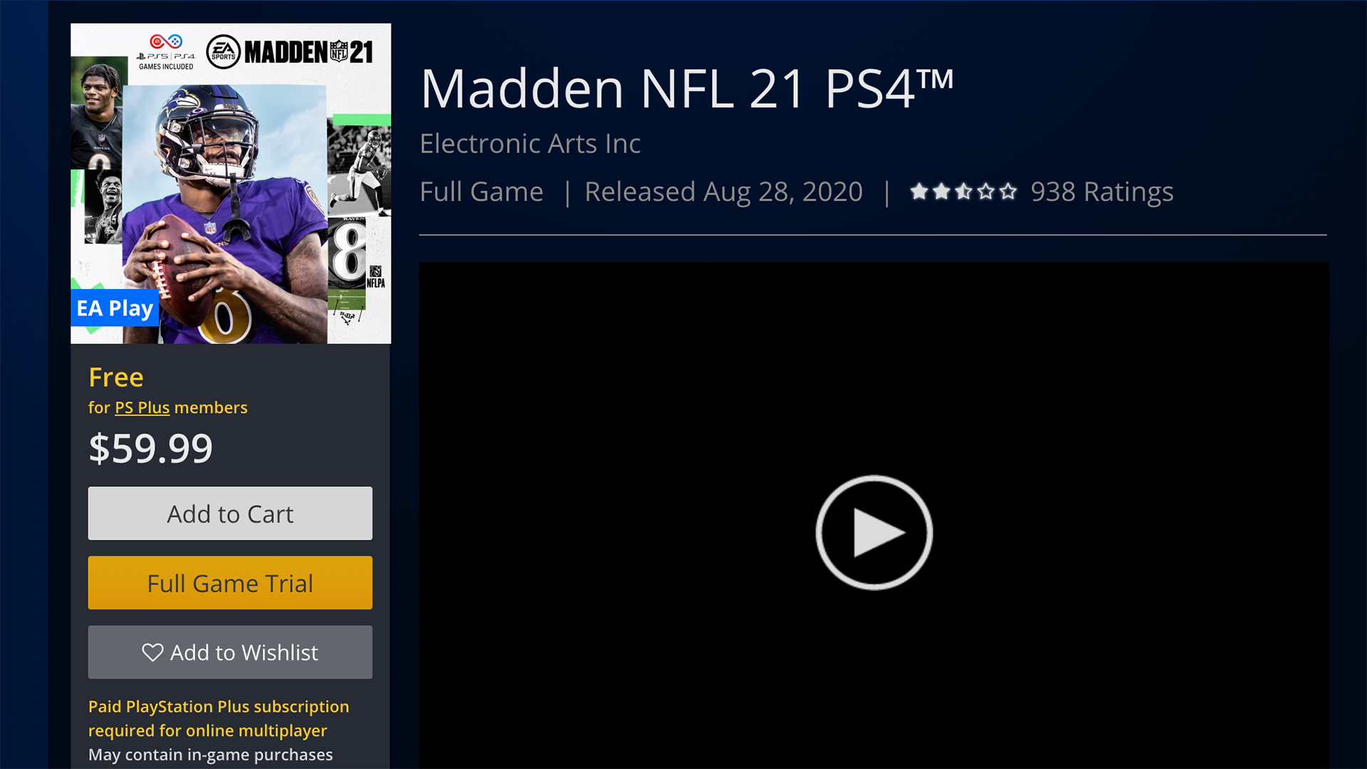 How to download a free trial of Madden 21 during free to play weekend