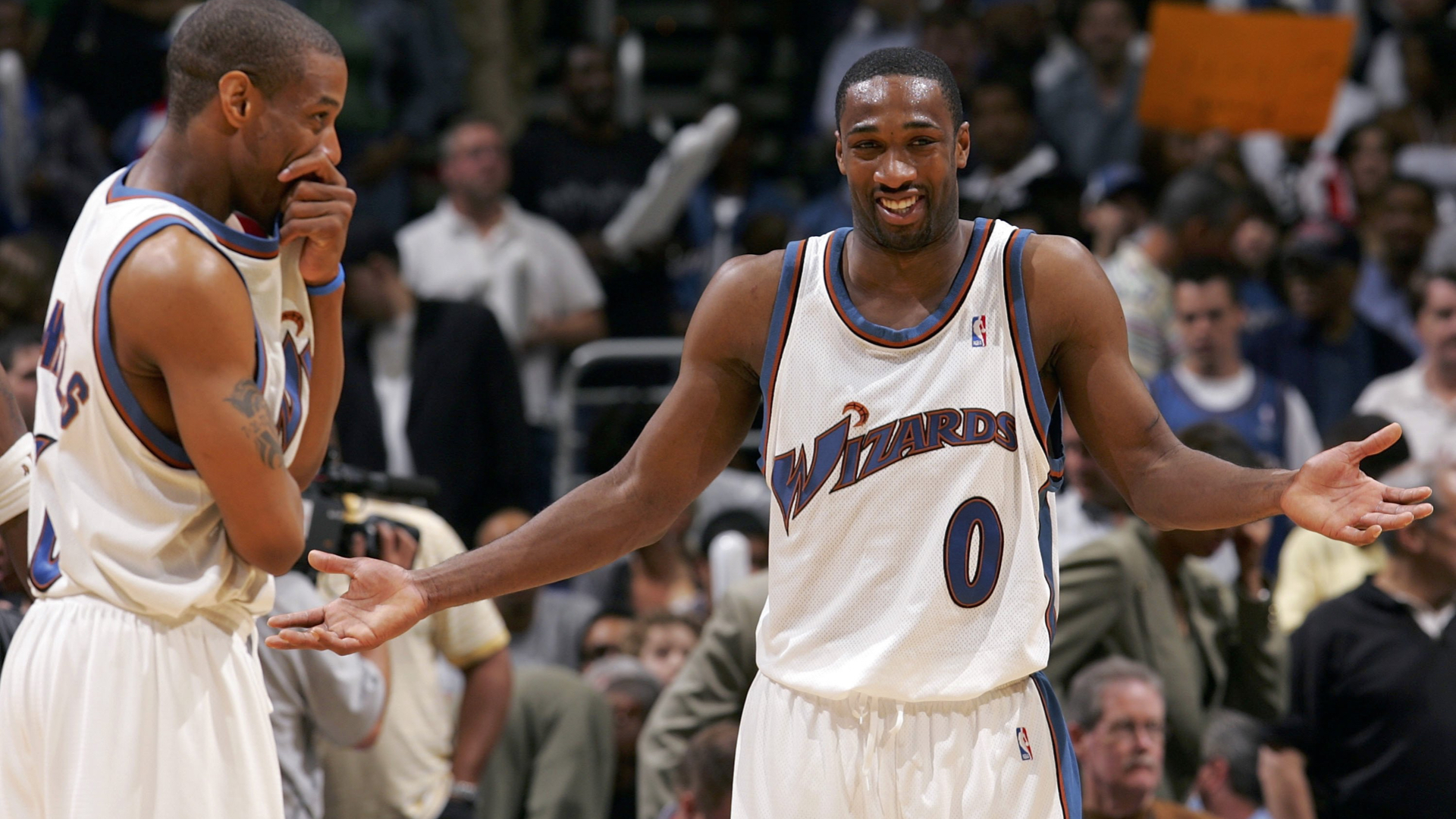 Gilbert Arenas explains how a homeless man helped him win 0,000 lottery