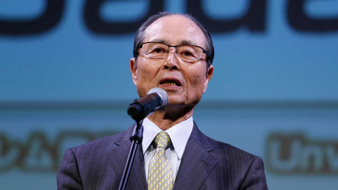 ソフトバンク-王貞治会長