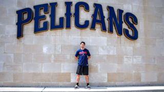 比江島慎 Makoto Hiejima Pelicans Workout