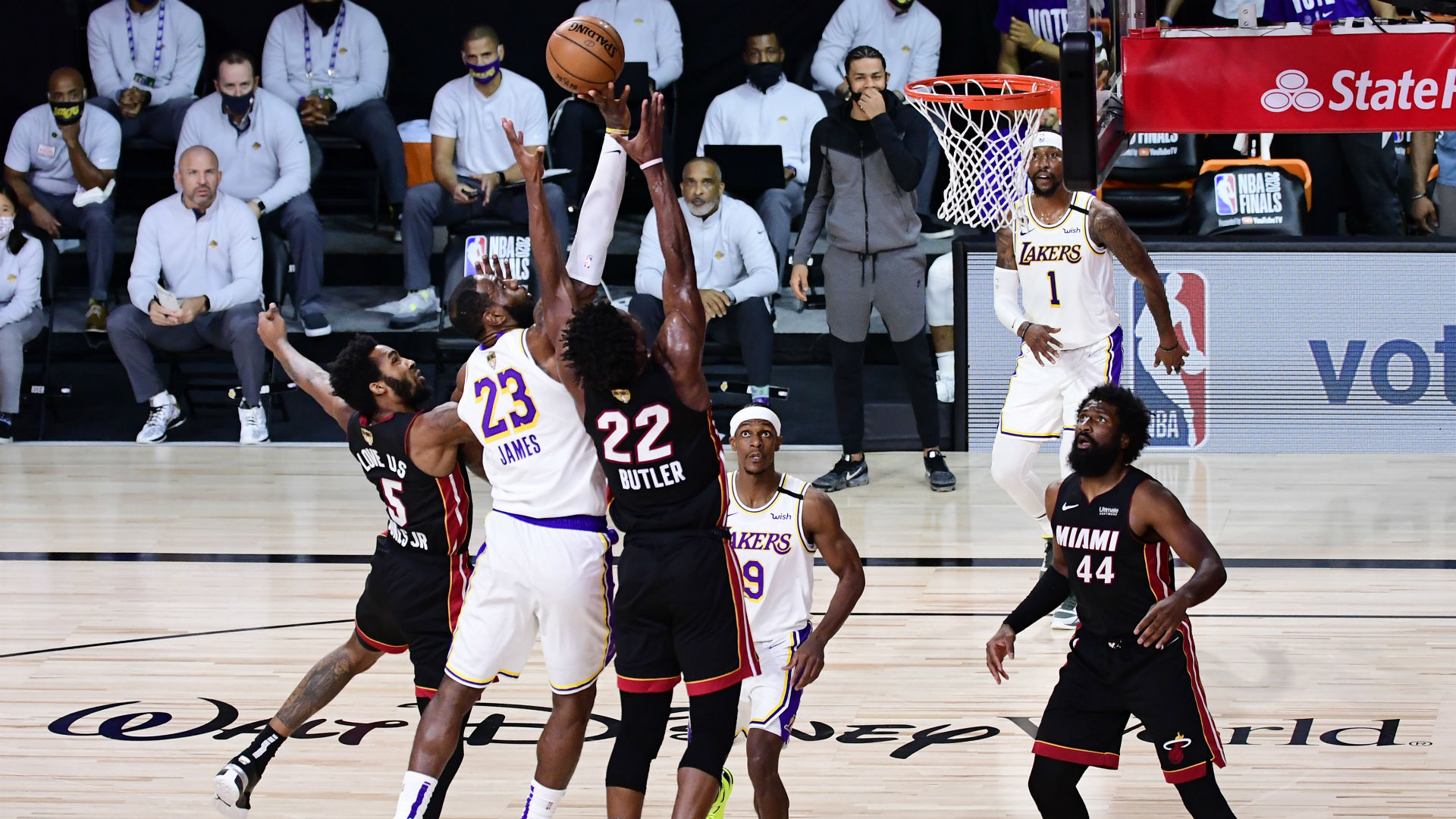 Lakers vs. Heat live score, updates, highlights from Game 5 of the 2020 NBA Finals