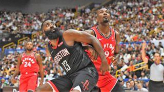 James Harden Serge Ibaka NBA Japan Games 2019 Game 1