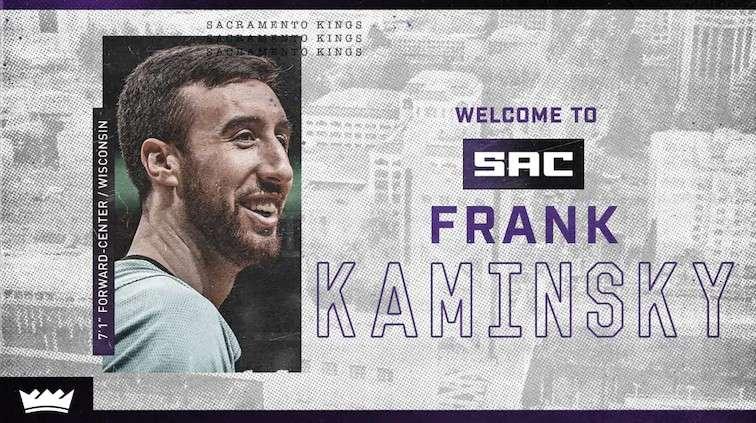 Sacramento Kings Frank Kaminsky