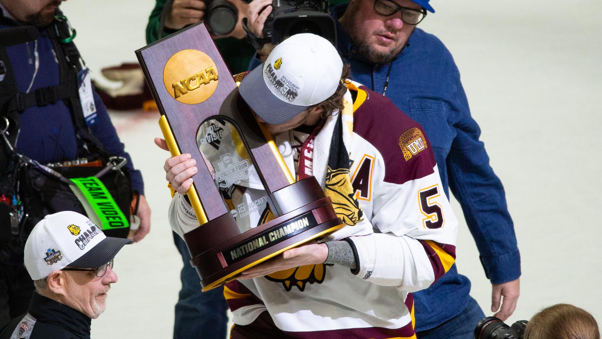 Men's Frozen Four 2021: how to watch TV, time, NCAA men's ice hockey tournament