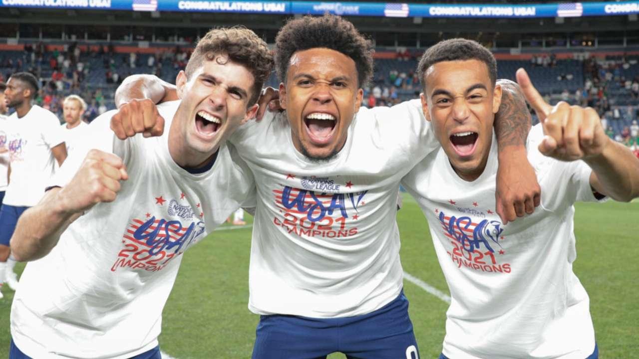 USA national team - Pulisic, McKennie, Adams
