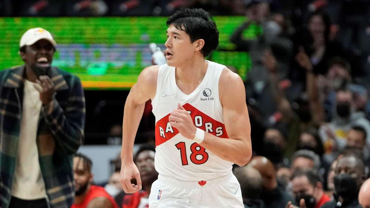 渡邊雄太 Yuta Watanabe Raptors