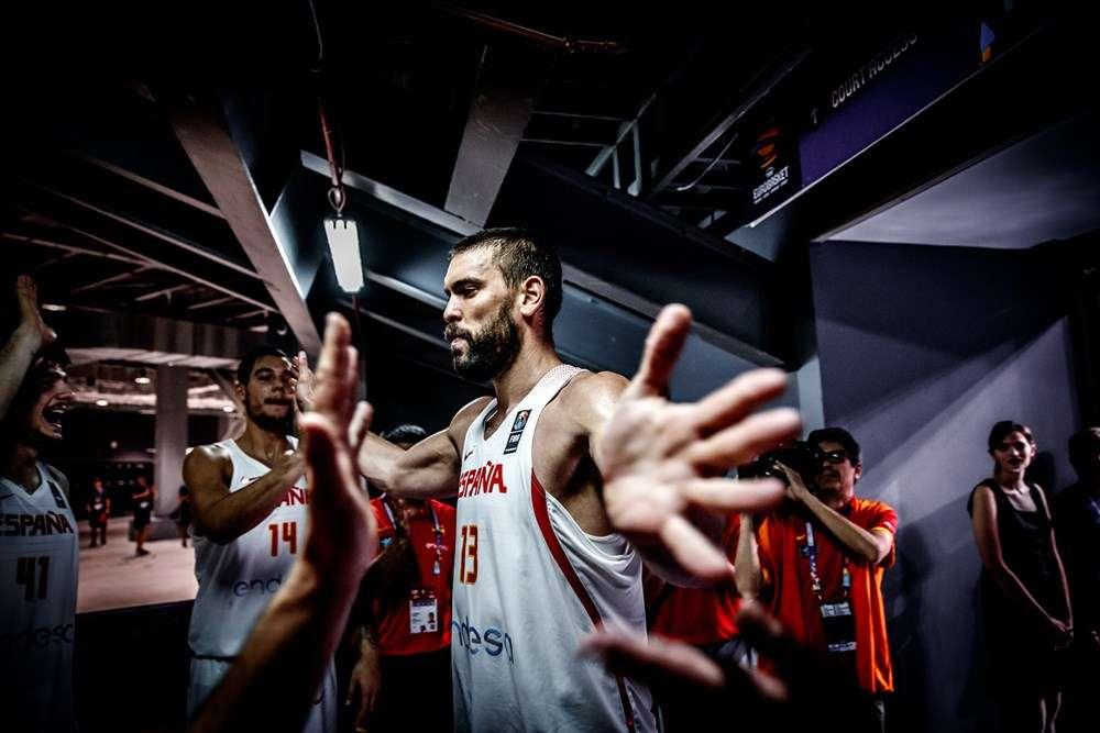Marc Gasol Spain FIBA