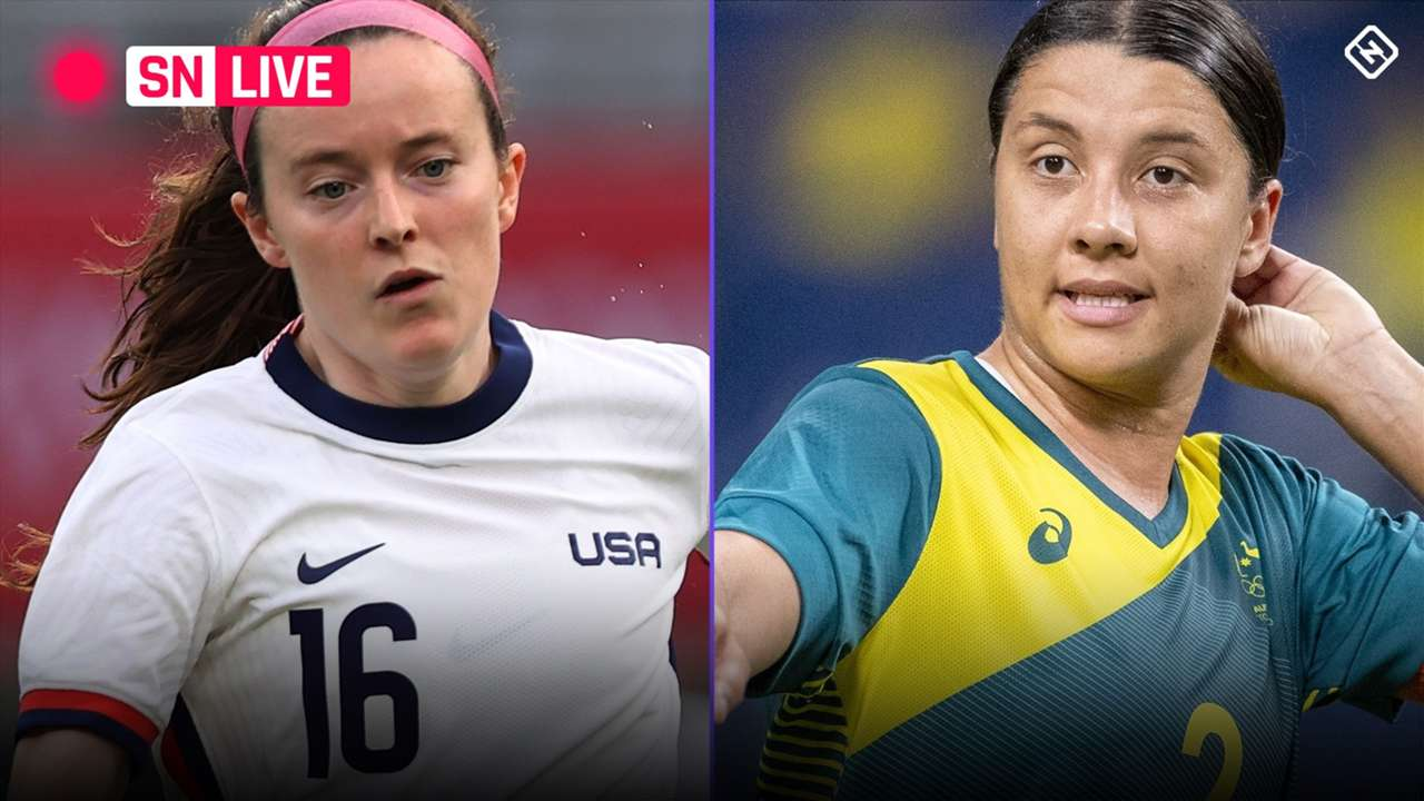Live Blog - USA vs. Australia - 2021 Olympics