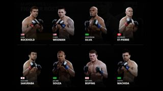 EA Sports UFC 2 Middleweights