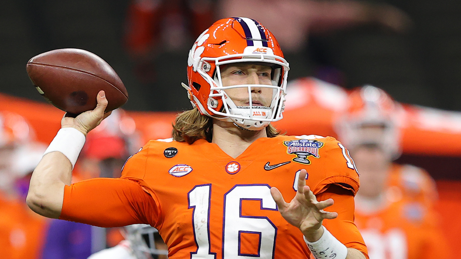 Trevor Lawrence faces one final indignity after Sugar Bowl loss: 'Poor Trevor needs to shave his 'stache' 1