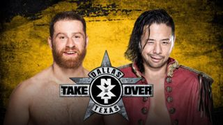 NXT - Shinsuke Nakamura vs Sami Zayn