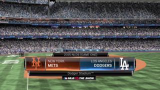 MLB 15: The Show NLDS Mets vs Dodgers