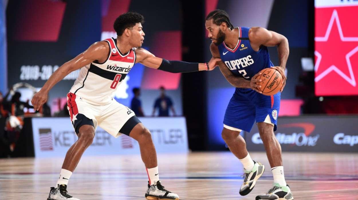 Rui Hachimura Washington Wizards Kawhi Leonard LA Clippers