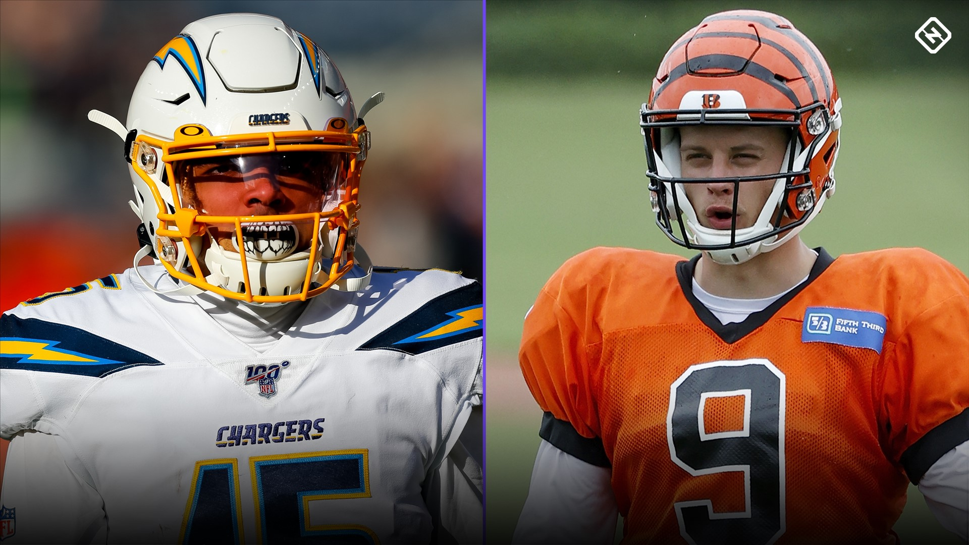 DraftKings Week 1 Sunday NFL Showdown: Picks, advice for Bengals vs. Chargers DFS 1