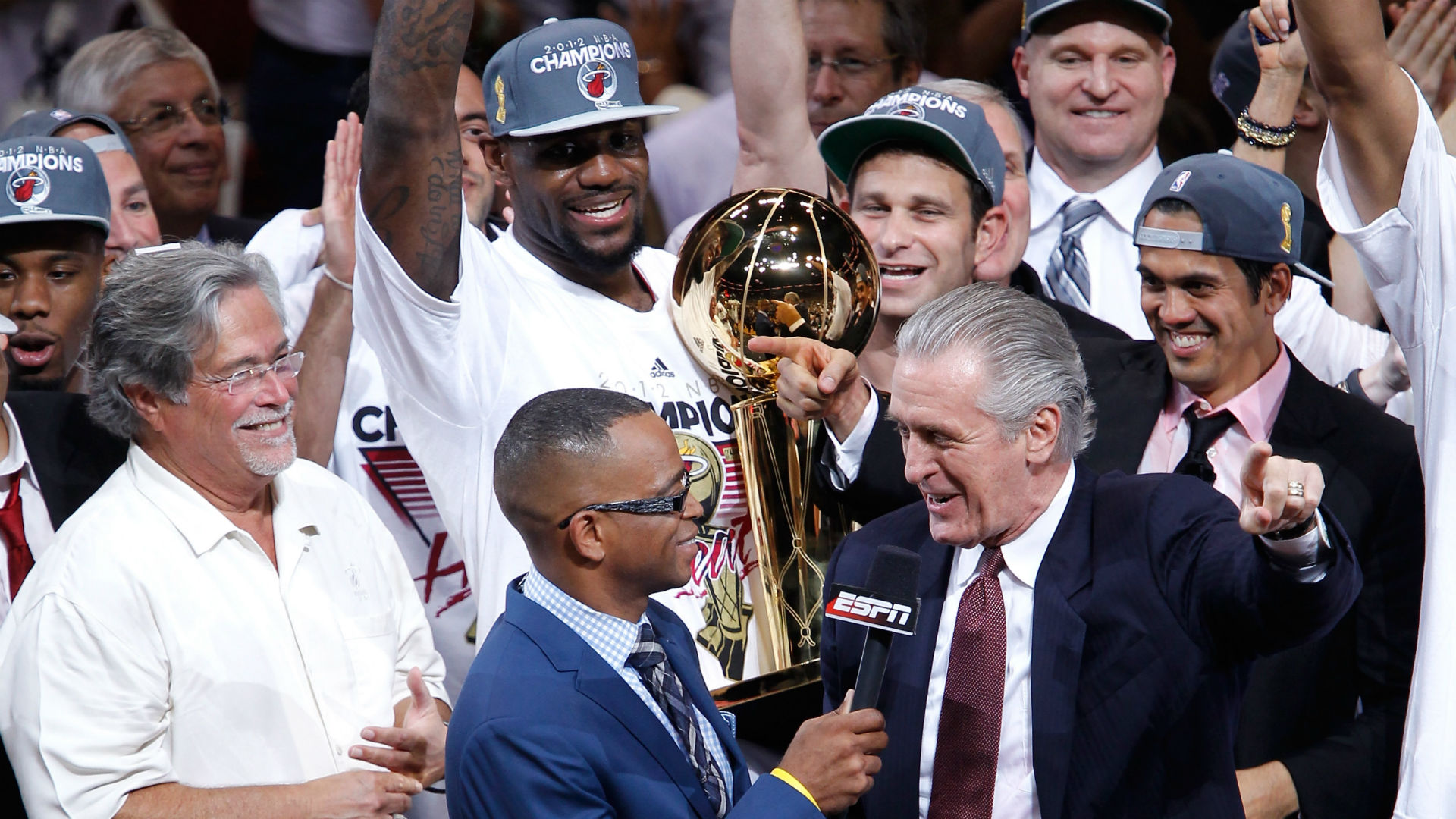 Why this NBA Finals is a little bit personal for Lakers' LeBron James, Heat's Pat Riley