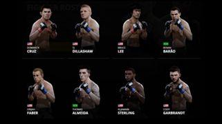 EA Sports UFC 2 Bantamweights