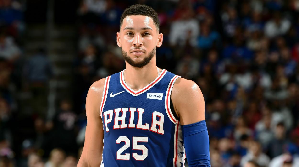リポート】ベン・シモンズが76ersとの延長契約に合意 | NBA日本公式 ...