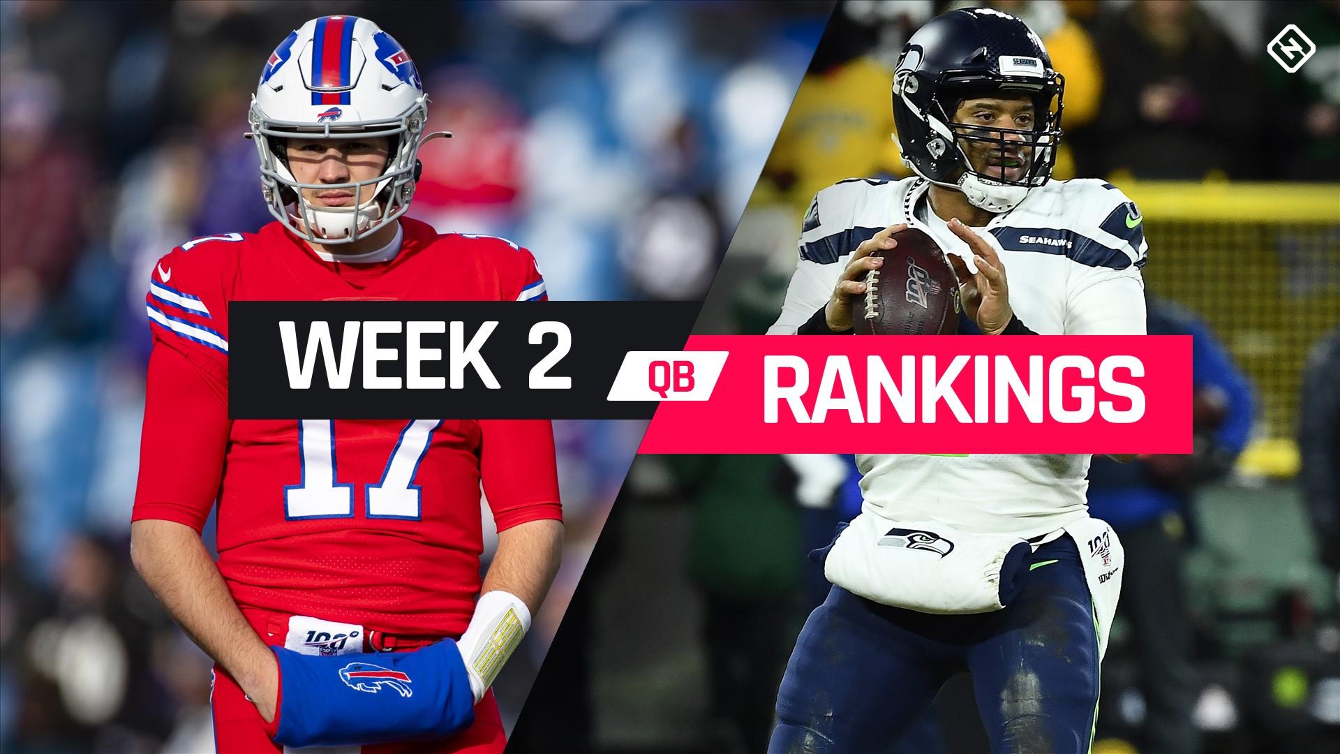 Week 2 Fantasy QB Rankings: Must-starts, sleepers, potential busts at quarterback 1