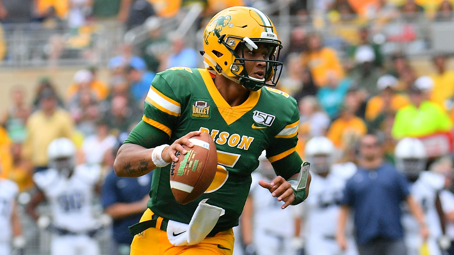 Meet Trey Lance, NDSU's mystery quarterback near the top of 2021 NFL mock drafts