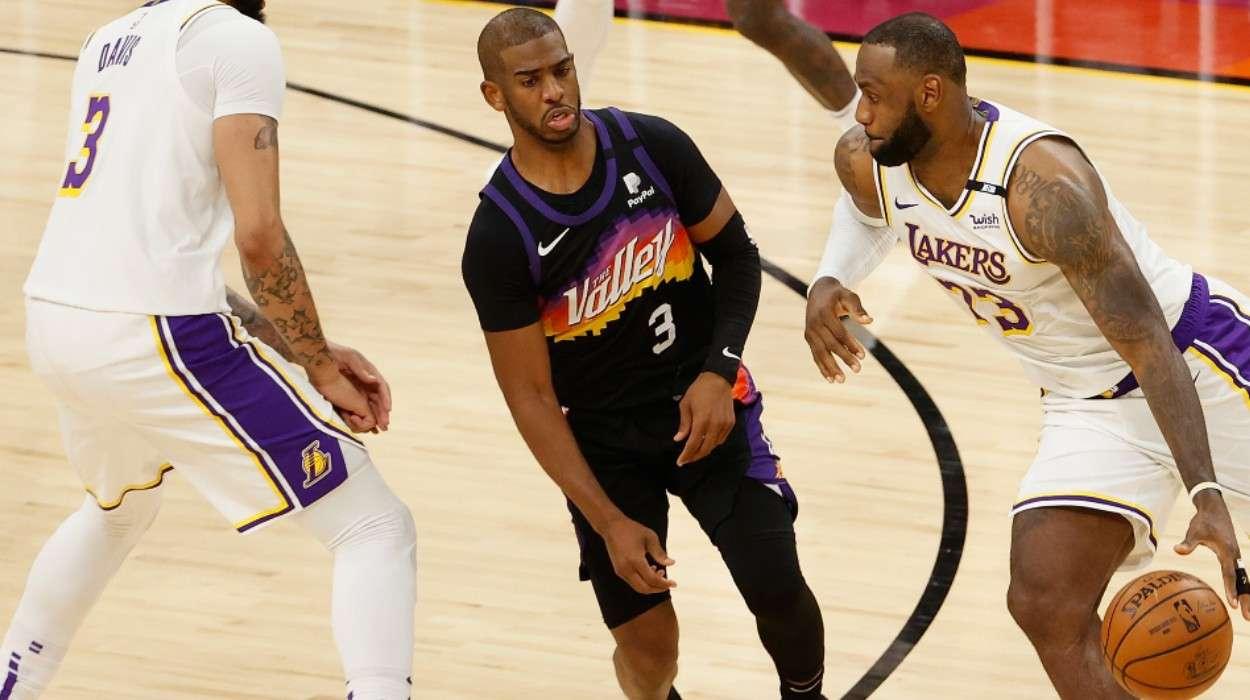 LeBron James Los Angeles Lakers Chris Paul Phoenix Suns