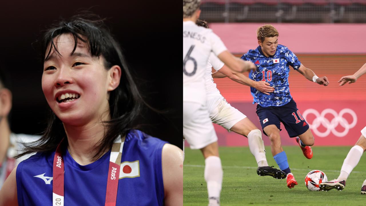 東京五輪7月31日、決勝進出の入江聖奈、NZLに勝利したサッカー日本代表の堂安律