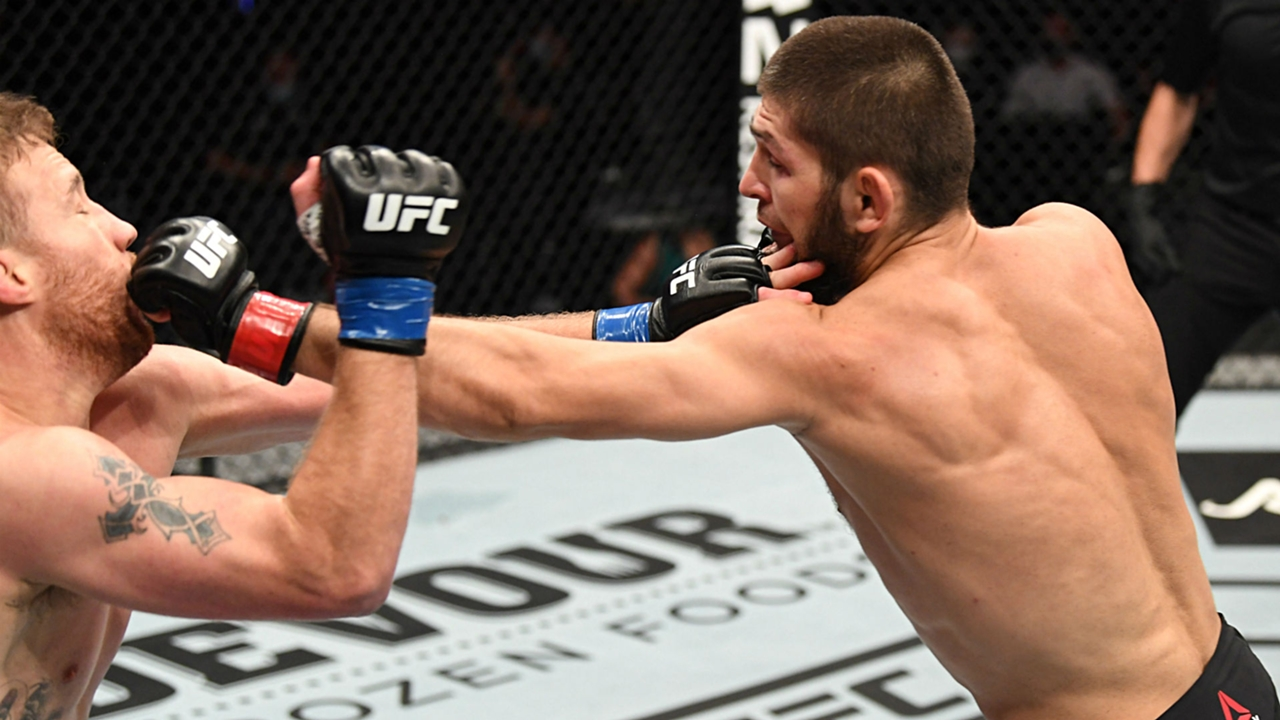 Ufc 254 Results Khabib Nurmagomedov Retires After Second Round Submission Of Justin Gaethje Sporting News