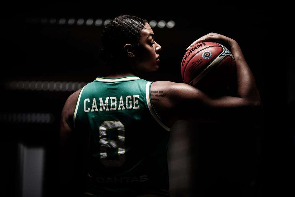 Liz Cambage FIBA Australia