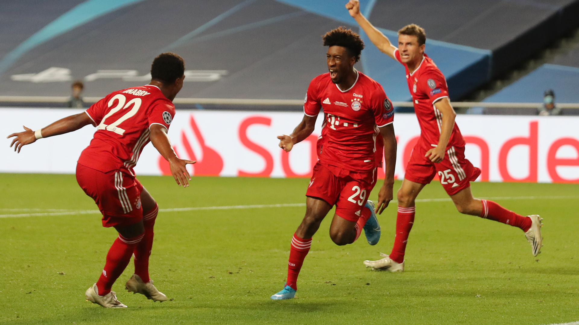 Psg Vs Bayern Results Kingsley Coman Heads German Side To Champions League Final Win Sporting News