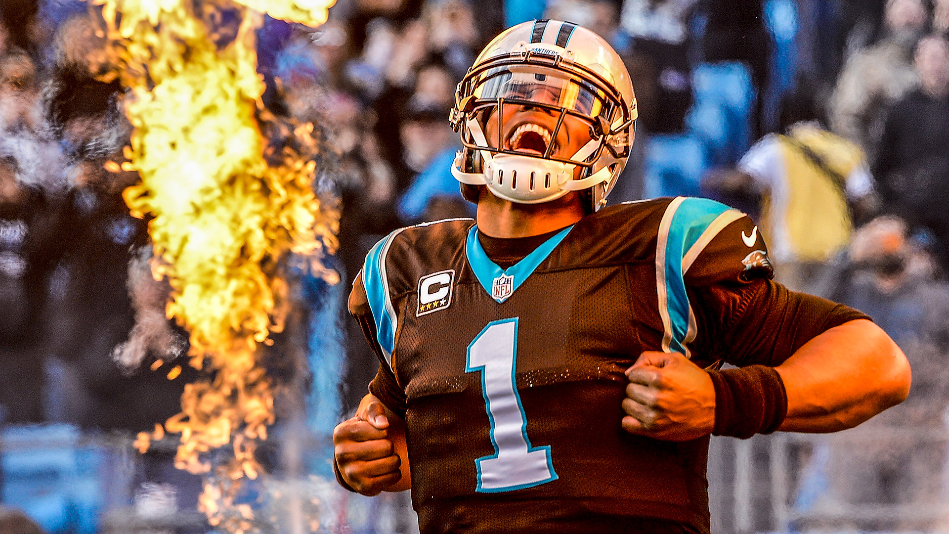 Cam Newton on camera: star power, style and celebrations of NFL's ...
