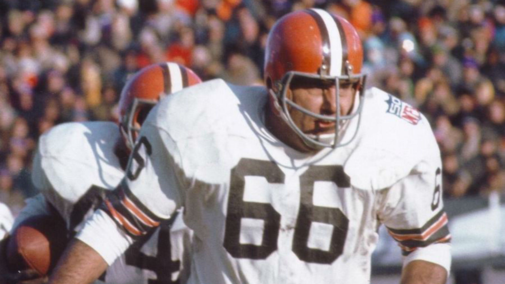 cleveland browns throwback jersey