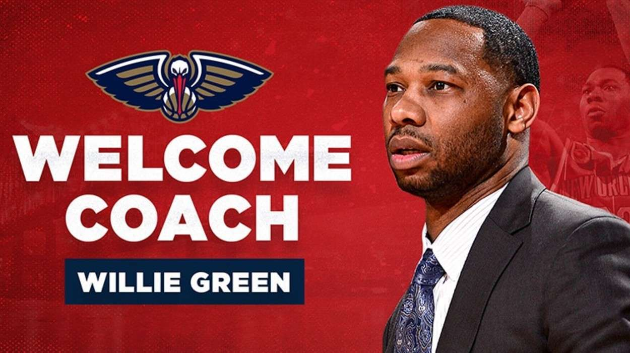 Willie Green New Orleans Pelicans