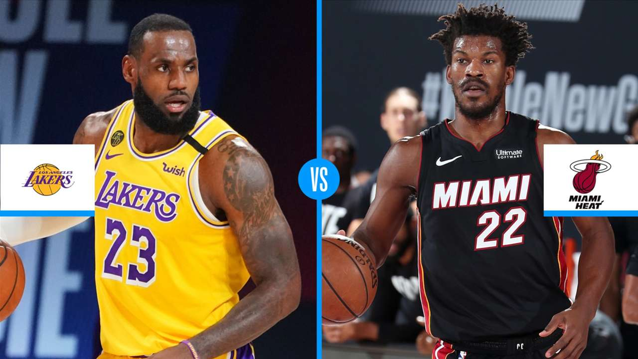 NBA Finals 2020 Lakers vs Heat