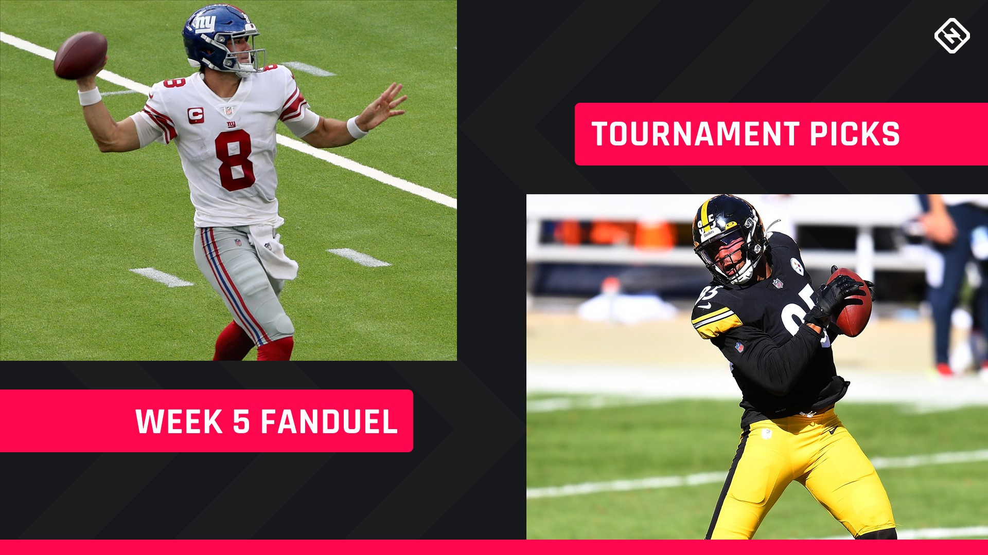 Week 5 FanDuel Picks: NFL DFS lineup advice for daily fantasy football GPP tournaments
