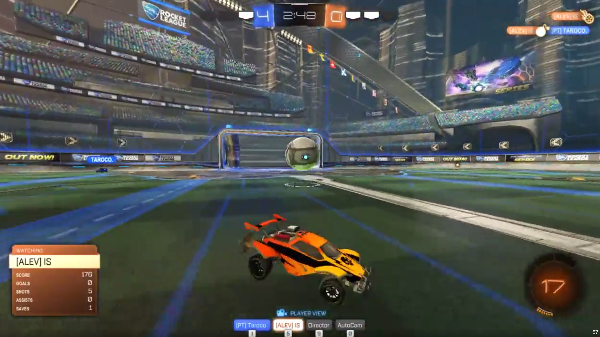 Twitch streamer gets struck by lightning live during Rocket League game 1