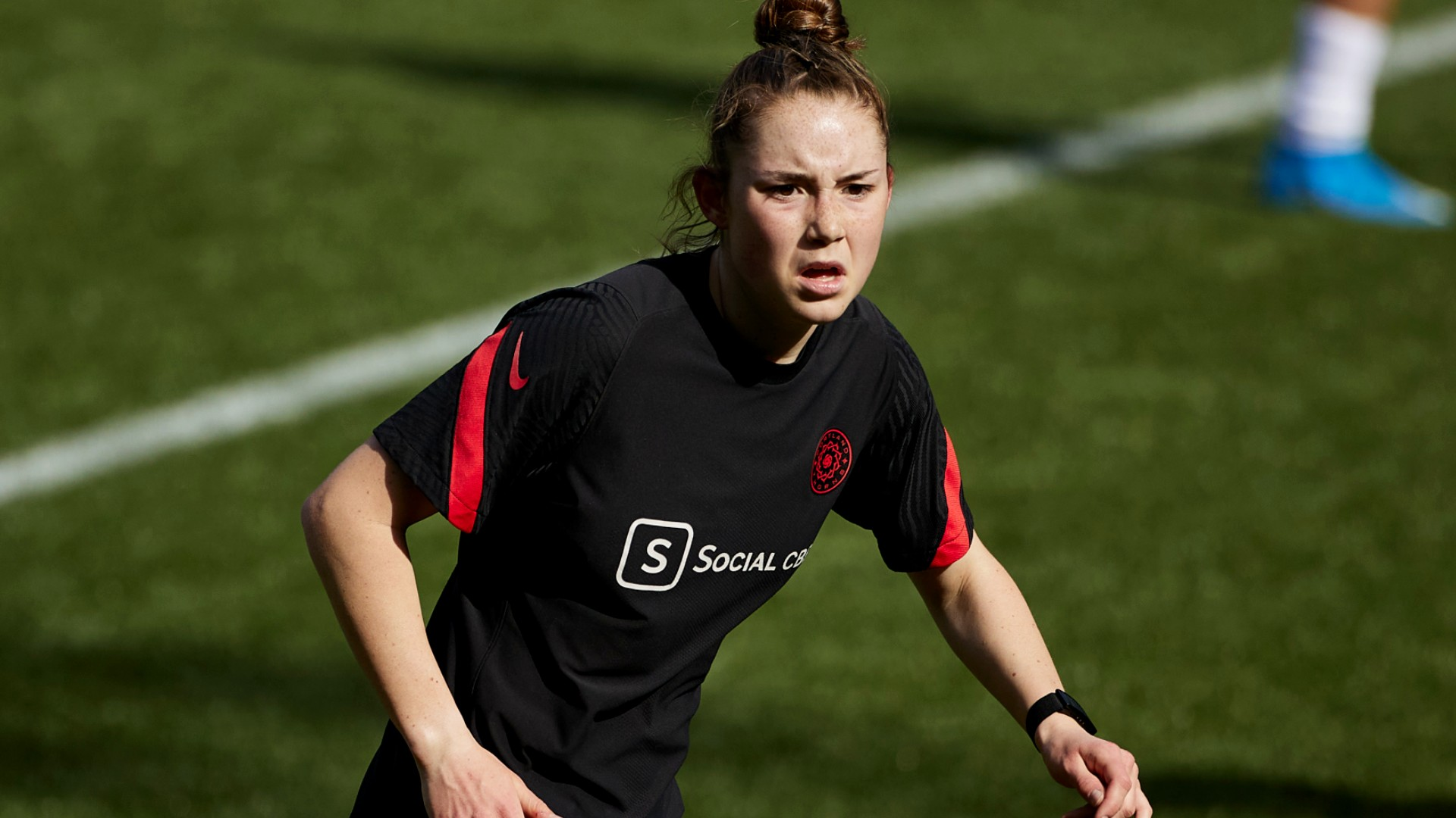 Olivia Moultrie, 15, becomes youngest player to debut in NWSL professional soccer with Portland Thorns