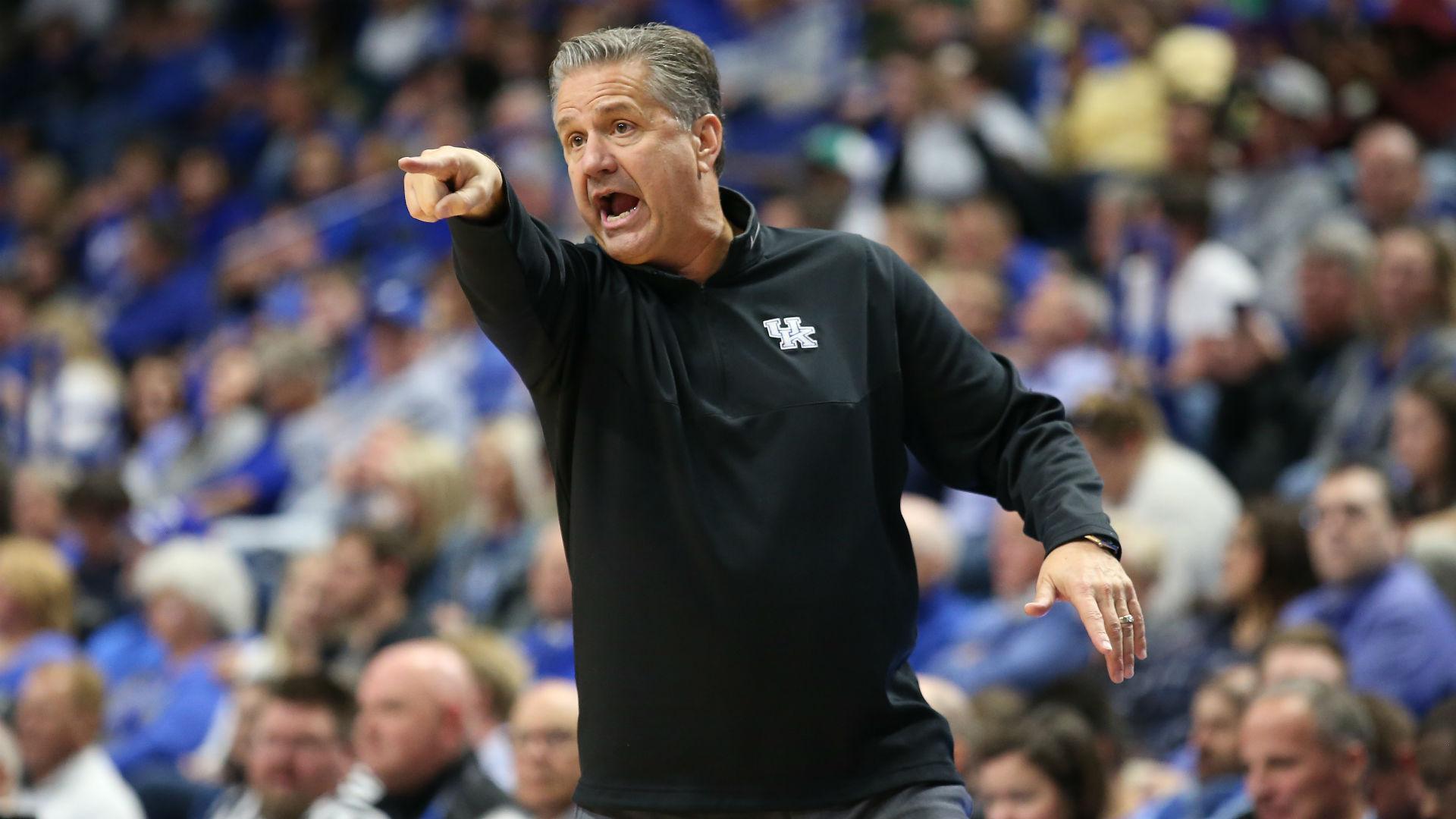 "John Calipari has denied being open to leaving Kentucky, ""to jump into the NBA"""