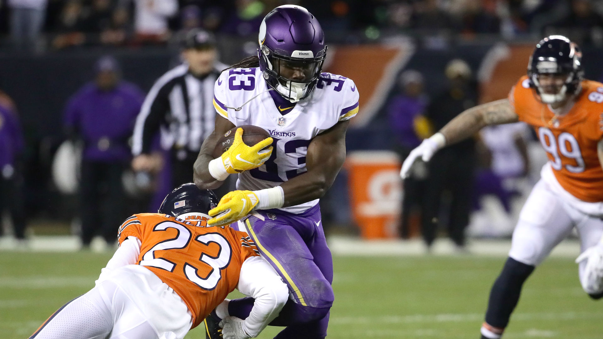 Against Bears Vikings Will Find Out Whether Offensive