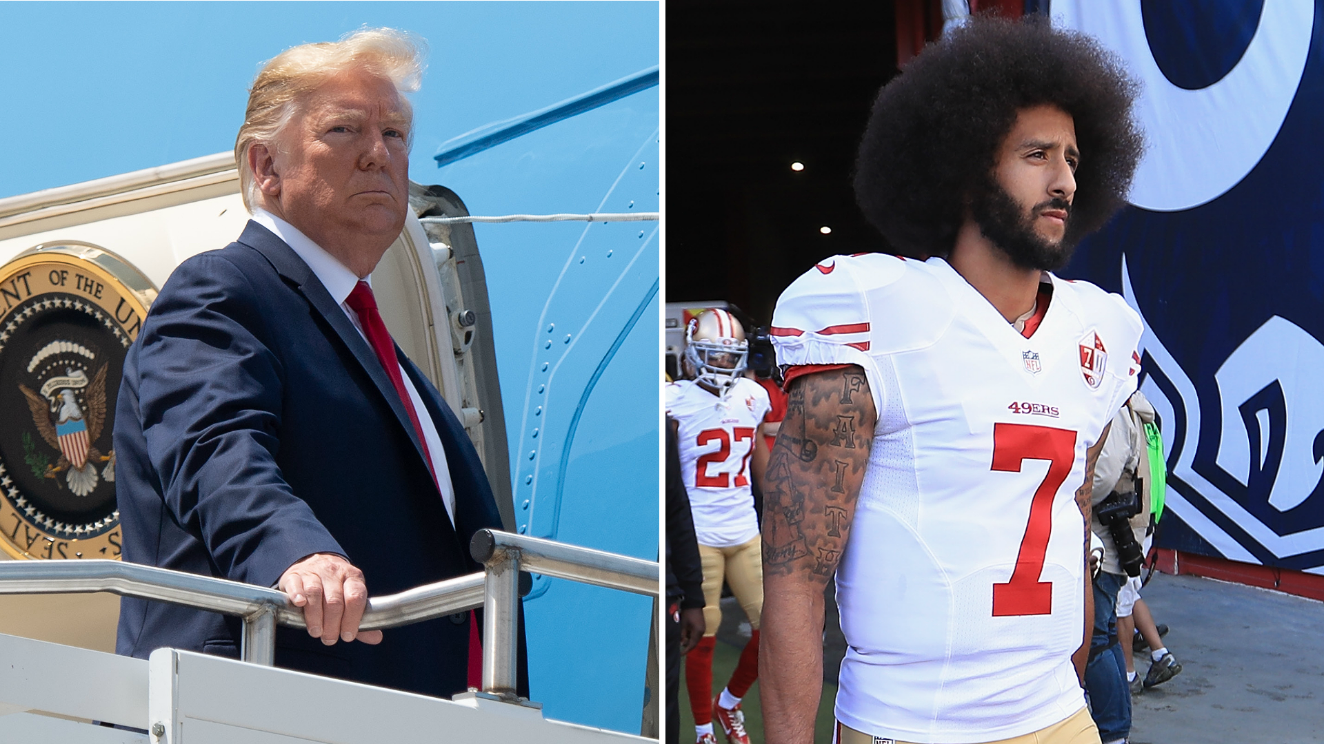 Fact-checking Donald Trump's comments about Colin Kaepernick's NFL career 1