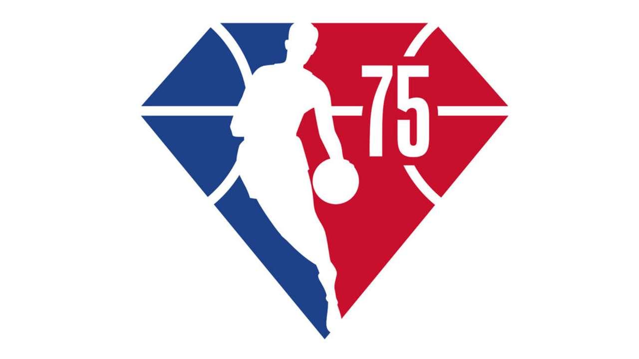 NBA 75 logo 16x9
