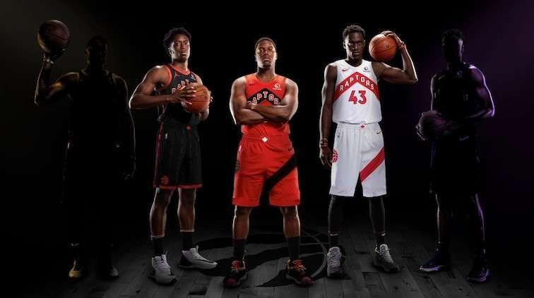 Toronto Raptors 20-21 season uniform