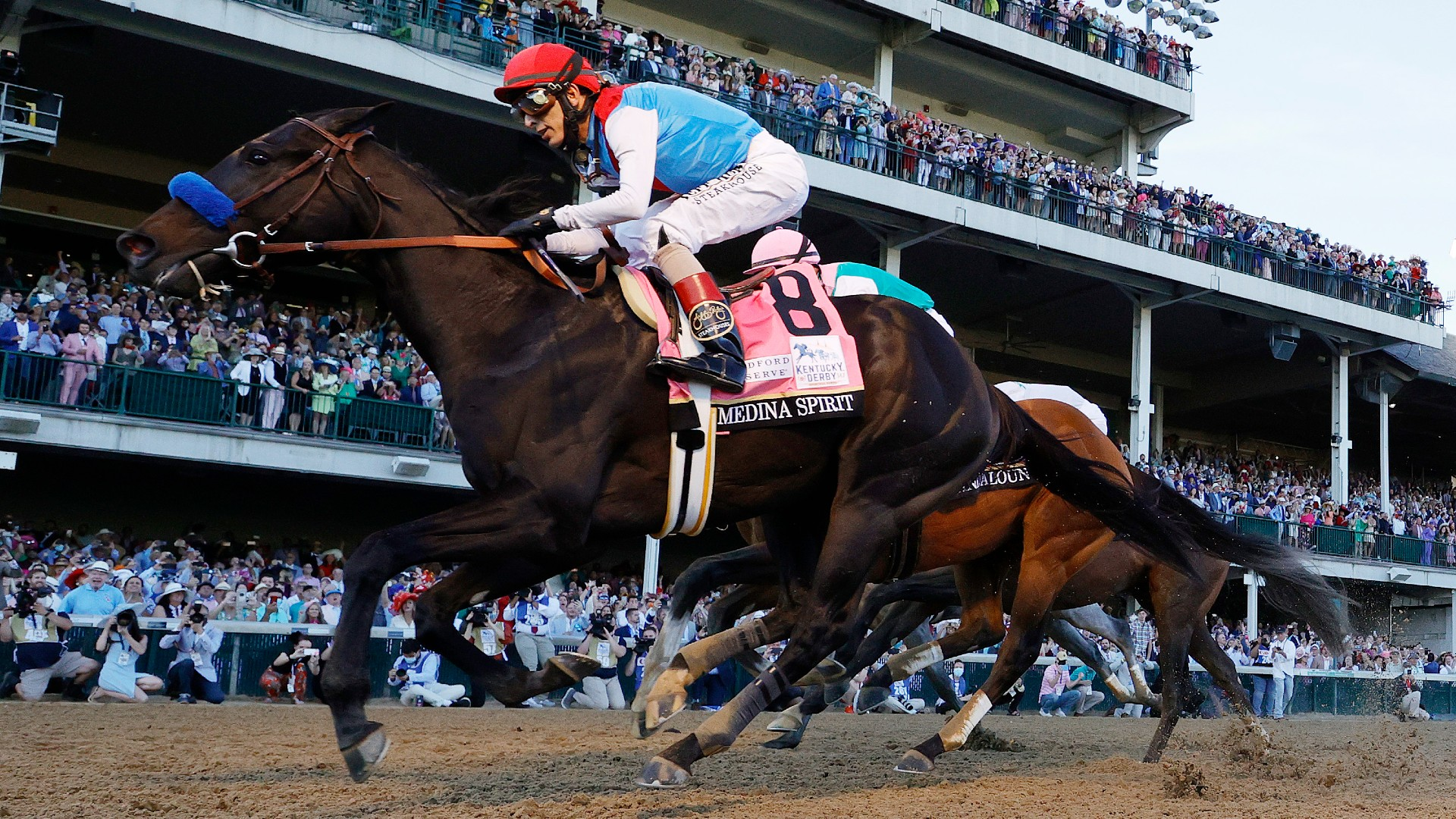 Medina Spirit Kentucky Derby winner to race at Preakness Stakes after passing final drug tests