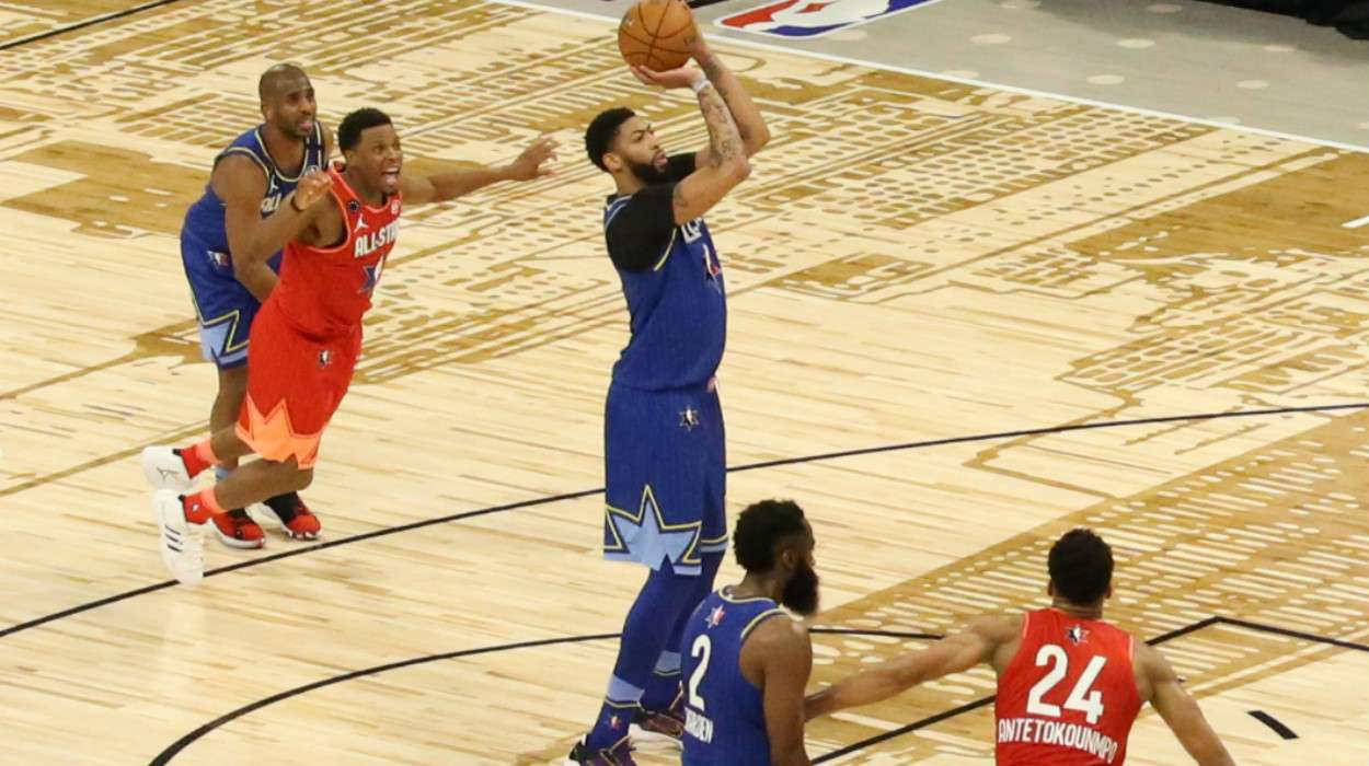 Anthony Davis Team LeBron 69th NBA All-Star Game