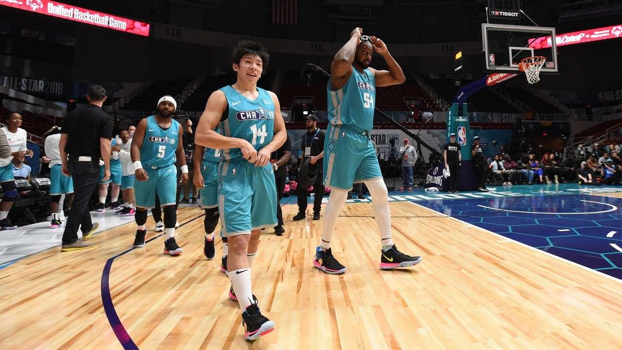 2019 NBA All Star - Unified Basketball Game Hayato Mikami